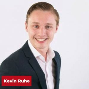 Kevin Ruhe, spreker inspire & Connect gratis event voor freelance marketeers